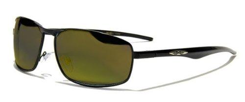 Curv Z rembourré pour moto/motard compatible avec lunettes de soleil Jaune avec étui gratuit RNfImYb
