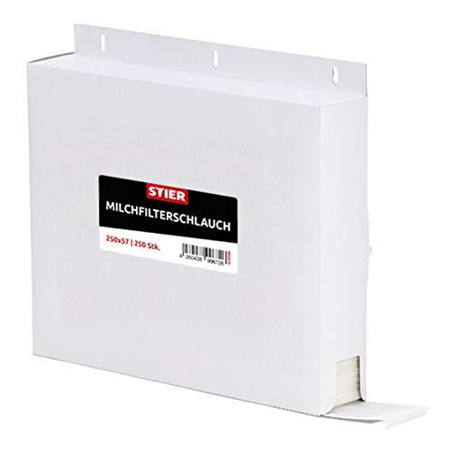 STIER Milchfilterschlauch (250x57) 250 Stk.
