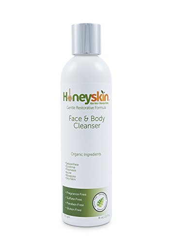 Honeyskin Organics Gentle Moisturizing Organic Face & Body Wash (8 Oz)...