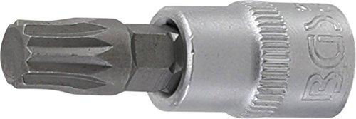 BGS 2503 Douille à embouts denture multiple intérieure, Argent/gris