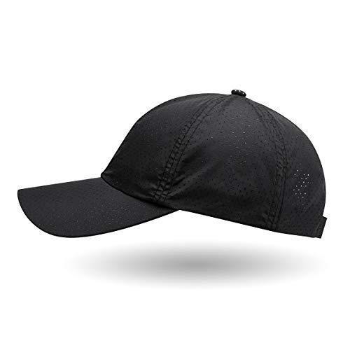 IceFrog Kappe Basecap Unisex Kappen schnell trockend Sportkappe Mützen für Draussen Jogging, Laufen Sport oder auf Reisen
