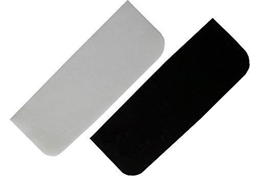 Griggekärble-Transporthelfer für Gehstützen/Krücken Einlegeboden Silikon, schwarz