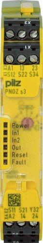 Pilz Not-Aus-Schaltgerät PNOZ s3#750103 24VDC 2 n/o PNOZsigma Gerät zur Überwachung von sicherheitsgerichteten Stromkreisen 4046548025682