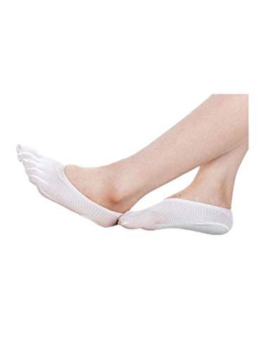 TEBAISE Damen Herren Unisex Baumwoll Sneaker Ballerina Socken -