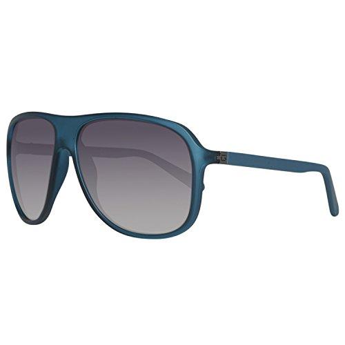 Guess Herren GU6876-5991B Sonnenbrille, Blau (Azul), 59
