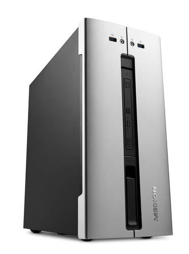 Medion M80 - Ordenador de sobremesa (Intel Core i5-9400, 8GB RAM, 1TB de HDD, Intel Graphics, Windows10) Gris