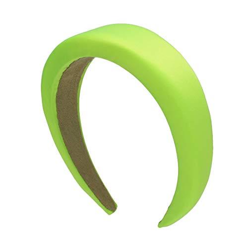 CB-R - CERCHIETTO BOMBATO LARGO RASO (Verde fluo)