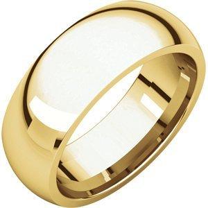 18kt Gelb 7mm Comfort Fit Wedding Band-18kt Yellow 7mm Comfort Fit Wedding Band