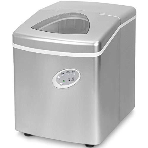 Think Gizmos Ice Maker Maschine für zu Hause - bester Wohnungs Ice Würfel Maker mit tragbarer Arbeitsplatte wo die Eiswürfel Maschine - 15kg in 24 Stunden herstellt