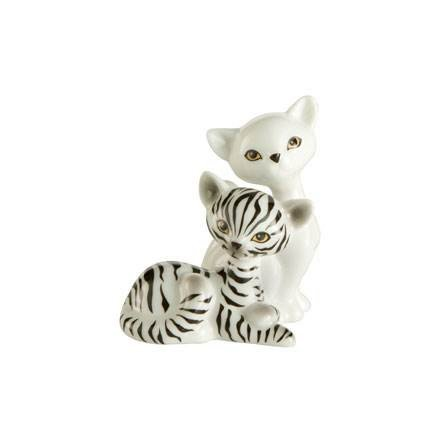 Mini Kitty in Love - Zebra Kitty de Luxe* 5,00 x 3,50 x 6,00 cm Luxe Zebra
