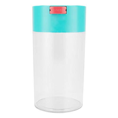 Lebensmittel-Aufbewahrungsglas, Zerone Plastic Vacuum Sealed Storage Jar-Lebensmittelbehälter für Kaffeebohnen, Tee und Trockenwaren(S) -