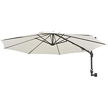 Easysol Wall Mount Parasol 200x200 Cm Square With Wall
