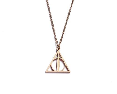 (Harry Potter Heiligtümer des Todes Halskette Kostüm Schmuck)