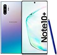 Samsung Galaxy Note 10+ Dual SIM 512GB 12GB RAM 4G LTE (UAE Version) - Aura Glow