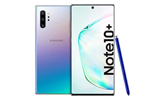Samsung Galaxy Note 10+ Smartphone B&le (17.2cm (6.8 Zoll) 256GB interner Speicher, 12GB RAM, Dual SIM, Android) Aura Glow inkl. 36 Monate Herstellergarantie [Exklusiv bei Amazon] Deutsche Version