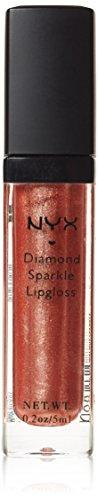 NYX Cosmetics Diamond Sparkle Lipgloss - Walnut
