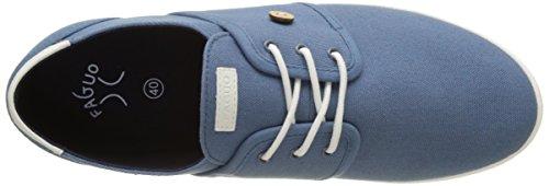 Faguo Cypress, Baskets Basses Mixte Adulte Bleu (Ocean)