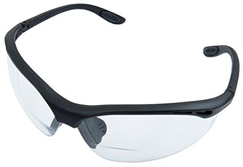 Connex COXT938822 Korrektionsschutzbrille +2,0 dpt, mit Sehstärke, schwarz