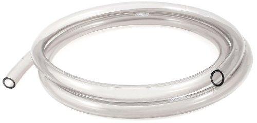 DealMux Aquarium Flexible Luftsauerstoff Circulate Rohr, 1.44m, klar, grau