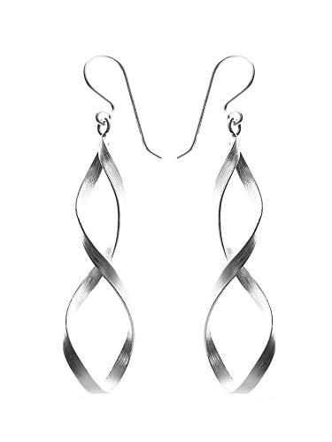 Silber 925 Sterling Silver Ohrringe - Ohrhänger Iriga