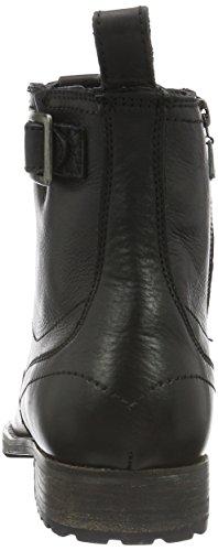 Pepe Jeans - Melting Buckle, Stivali bassi con imbottitura leggera Uomo Nero (Schwarz (Black 999))