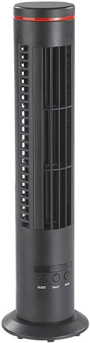 newgen medicals Tischturmventilator: Mini-Tisch-Turmventilator VT-194.T mit Ionisator & Luftreiniger, USB (Raumlüfter)