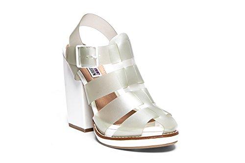 Steve Madden Hi-top - Sandalia Para Mujer Blanco (blanco)