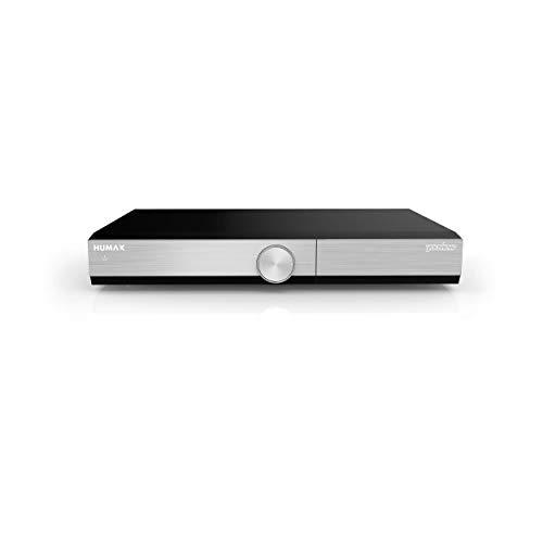 Humax DTR-T2000 Black,Silver digital video recorder - Digital Video Recorders (DVR) (1920 x 1080 pixels, 500 GB, 100 - 240V AC, 50/60 Hz, 0.5 W, 360 x 245 x 50 mm, 2.51 kg)