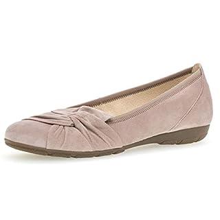 Gabor 24.150 Damen Ballerinas,Frauen,Flats,Sommerschuh,klassisch Hovercraft- Luftkammernsohle,antikrosa,6 UK