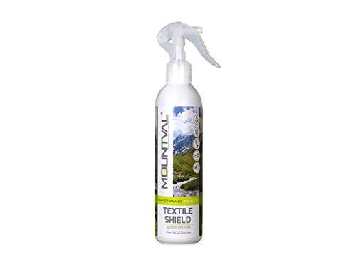 Mountval Impermeabilizzante spray neutro per tessuti, scarpe e abbigliamento da montagna. Confezione da 300ml.