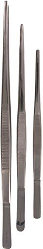 adecco-llc-3pcs-stainless-steel-planting-tongs-tweezer-with-precision-serrated-tips-for-surgical-sea