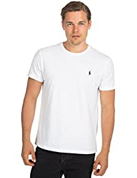 Polo Ralph Lauren - Mens Small Pony Crew Neck Cotton Jersey T-Shirt - Standard Fit - 15 Colours Available