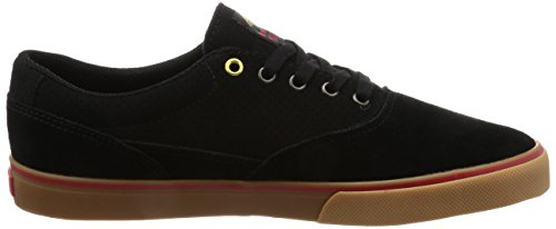 Emerica - Provost Slim Vulc X Toy Machine, Scarpe da skateboard Uomo Nero
