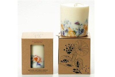 Wild Flowers Soy Wax Candle by Munio Candela