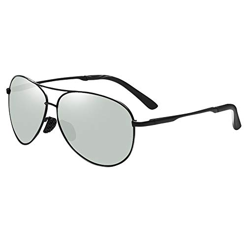 Fahren im Freien Polarisiert Fahren Sonnenbrille Unterschiedliche Farbe Licht Polarisierte Linse UV-Schnitt Ultraleichter Antrieb Baseball Fahrrad Angeln Laufen Golf Geeignet für Sonnenbrillen und fla