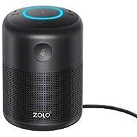 ZOLO Halo Smart Speaker Alexa Sprachsteuerung, Kraftvollem Klang, Amazon Music Unlimited Stream, TuneIn, Radio Player, Smart Home Gerätekontrolle