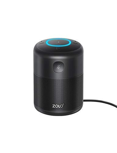 ZOLO Halo Smart Speaker Alexa Sprachsteuerung, Kraftvollem Klang, Amazon Music Unlimited Stream, TuneIn, Radio Player, Smart Home Gerätekontrolle