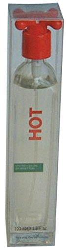 Benetton donna fragranza hot essence eau de toilette spray for her 100ml