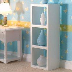 Dolls House Mensola bianco 3 Ventilatore Casa delle bambole 3687