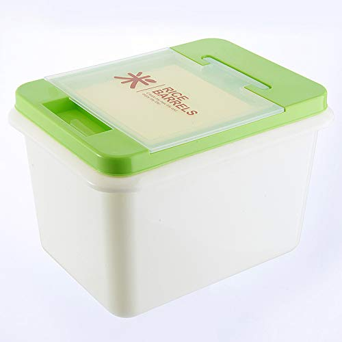 SNOLEK Küche Haushalt Kunststoff reiseimer flip grün 29 * 23 * 22