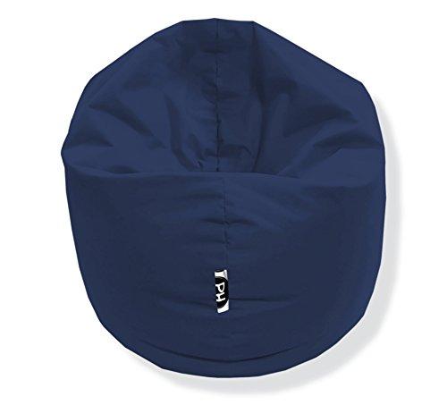 Sitzsack 100cm Durchmesser 2 in 1   Marine - 300 Liter in 25 Farben und 3 versch. Größen