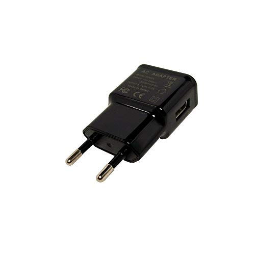 GiXa Technology Adapter Schwarz 2.1A / 2100mAh Universal USB Netzteil Ladegerät Reiselader - Universal Gps-home Charger