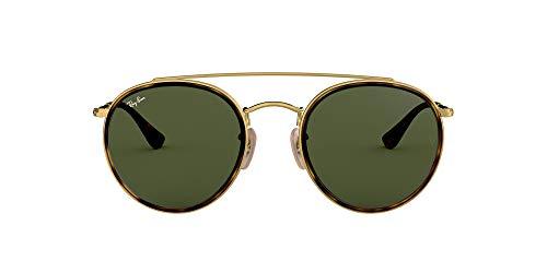 Ray-Ban MOD. 3647N Ray-Ban Sonnenbrille MOD. 3647N Rund Sonnenbrille 51, Schwarz