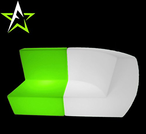 LED LOUNGE SOFA LEUCHTMÖBEL COUCH CUBE NEW DESIGN IN/OUTDOOR CLUB PARTY TREND NEW 2016 DESIGN - 3