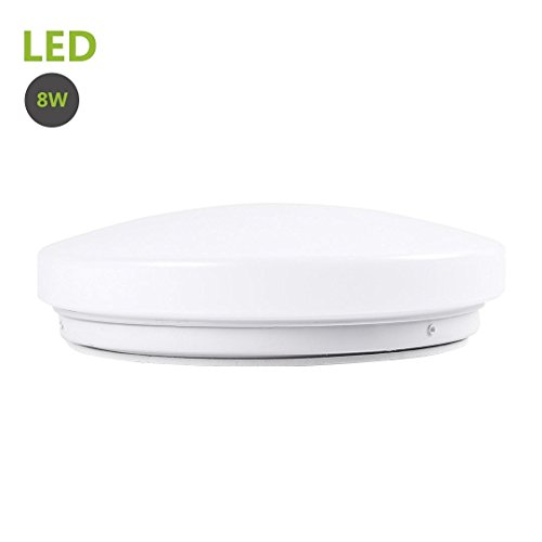 greenclick-8w-round-led-flush-mount-ceiling-light-warm-white-5000k