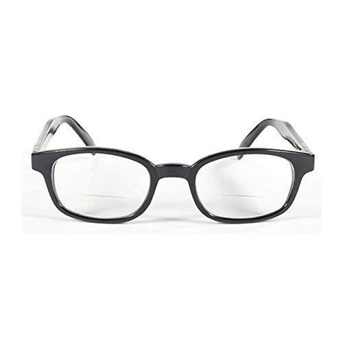 KDS Brille kd' S Sonnenbrille für presbytes-readerz Clear Biker Korrektur + 1,50