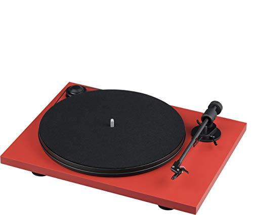 Pro-Ject Project Pri E R tocadisco Vinilo Rojo/Negro
