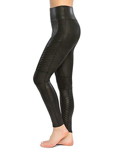 Spanx Structured Leggings Shaping-Leggings im Biker-Look Damen Black