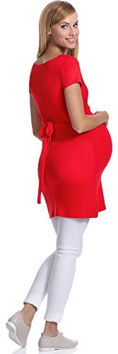 Be Mammy Maternité Tunique Femme 243 Rouge