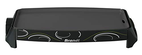 Brandt - Brandt Plancha teflon noir